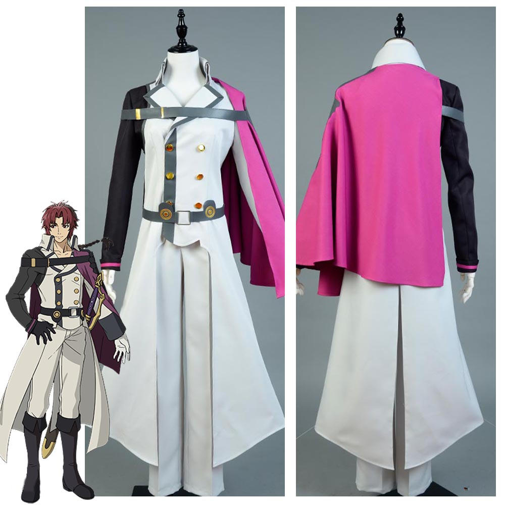 Seraph of the End Crowley Eusford Halloween Party Cosplay Costumes For Men New Arrival
