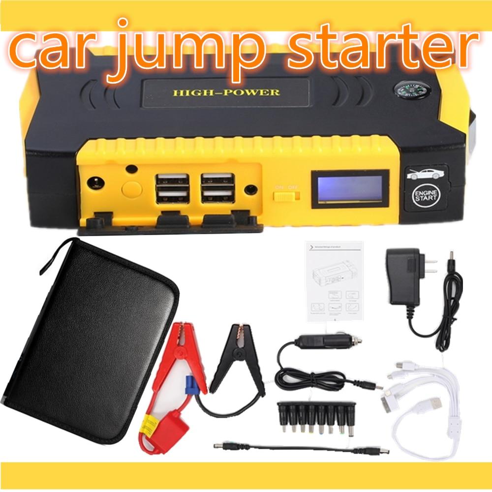 Оригинальный Портативный автомобиля Пусковые устройства и Зарядное устройство для электроники мобильного устройства ноутбука Auto Двигатели для автомобиля аварийного Батарея pack