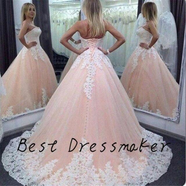 8b34e9e5110 Vintage Ball Gown Quinceanera Dresses 2016 Vestidos de 15 Anos Masquerade  Prom Dress Long Custom Made