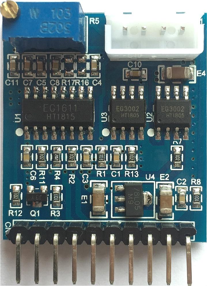 Push-pull Quasi-resonant 1000W Inverter Front Drive Board T003 EG1611 + EG3002 Drive ModulePush-pull Quasi-resonant 1000W Inverter Front Drive Board T003 EG1611 + EG3002 Drive Module