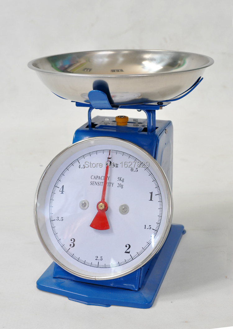 Steelyard with pan kitchen weight measurement tools for Fish weight scale