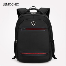 Lemochic высокого качества Crossbody карманные Бизнес Оксфорд drawstring мужчины сумка для ноутбука Mochila ноутбук Водонепроницаемый рюкзак студентов