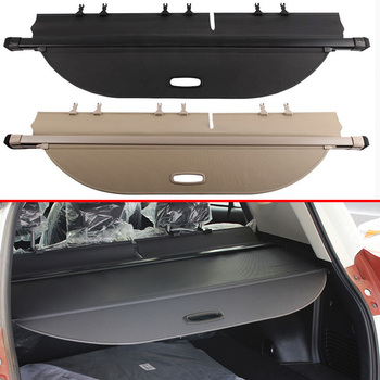 For TOYOTA RAV4 2014 2015 2016 2017 2018 Aluminum+Canvas Rear Cargo Cover privacy Trunk Screen Security Shield shade Accessories image