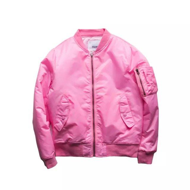 ROYEW bape MA1 Bomber jacket pink women jackets men KANYE WEST YEEZUS Sport  Suit Parkas hip hop coats streetwear zipper-in Basic Jackets from Women s  ... 8dc020a09