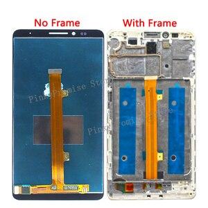 """Image 2 - Huawei mate 7 จอแสดงผล LCD + หน้าจอสัมผัส Digitizer ชิ้นส่วนอะไหล่ทดแทนหน้าจอกรอบสำหรับ 6.0 """"Huawei mate7 LCD"""