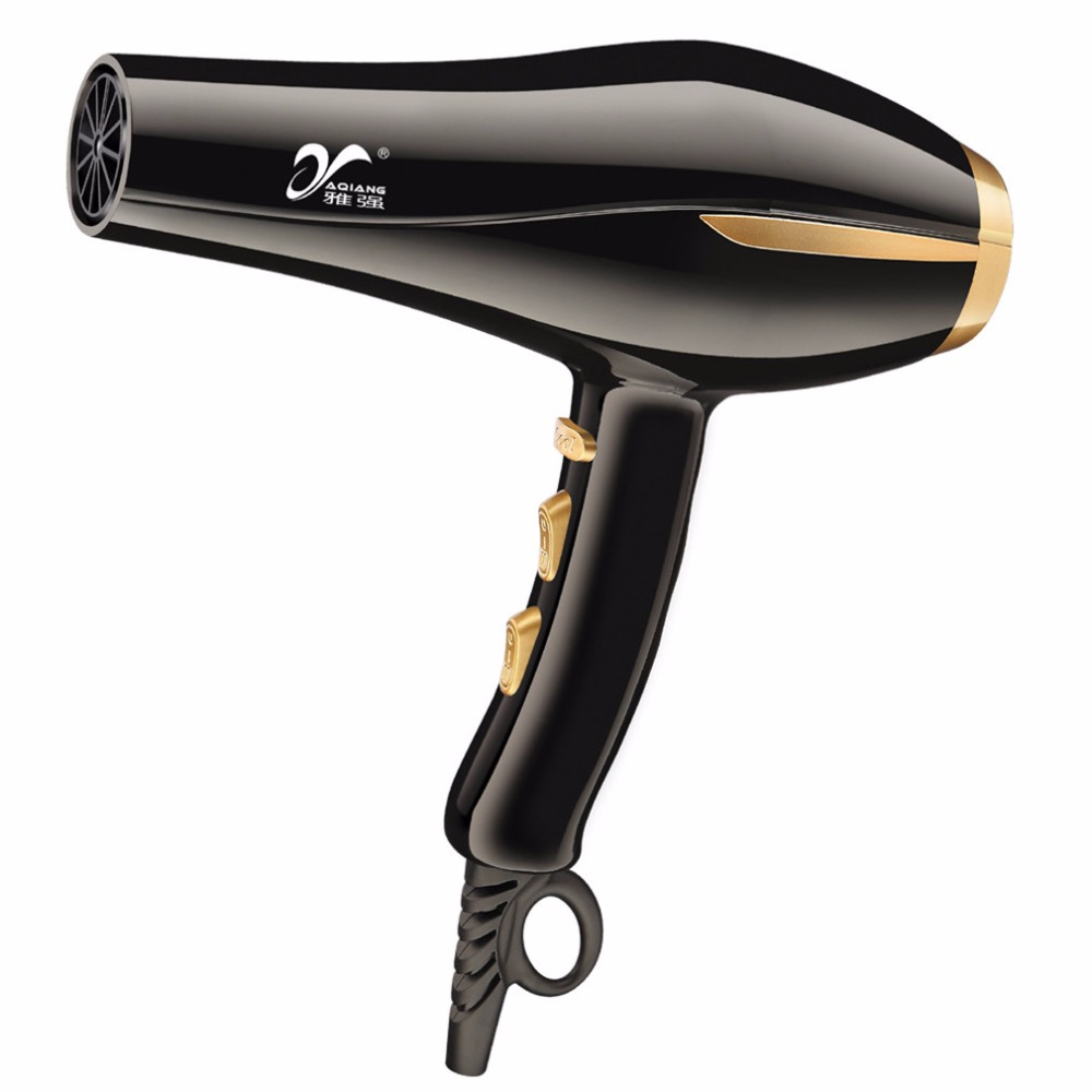 YAQIANG 3000W 6-speed Hair Dryer Lonized Water Ceramic Ionic Fast Styling Blow Dryer Long Life AC Motor Salon&Home Use стоимость