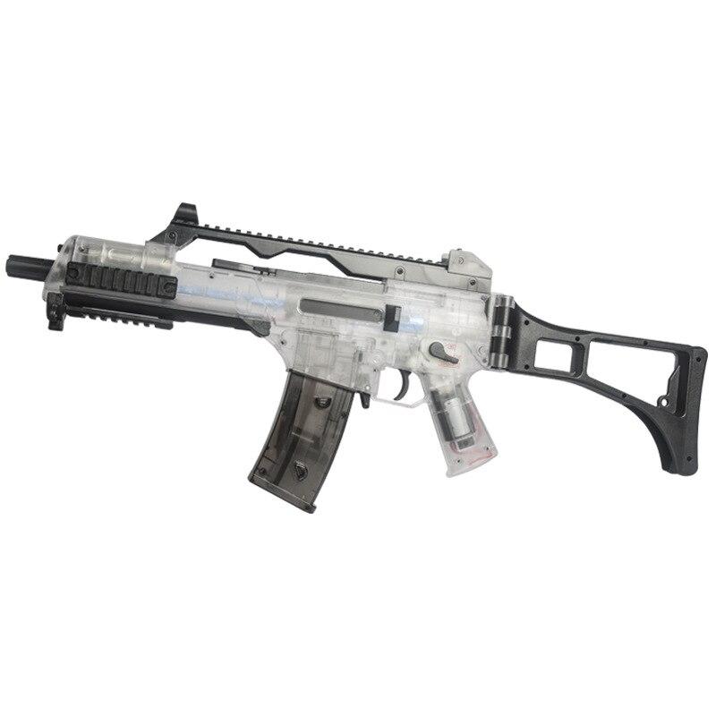G36C jouet pistolet à eau électrique rafale jouet Gel pistolets à eau pour enfants passe-temps porte