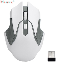 Adroit 2017 New 4 Key 2.4GHz Wireless Optical Gaming Mouse 3200DPI Mice For Computer PC Laptop 28S7531 drop shipping