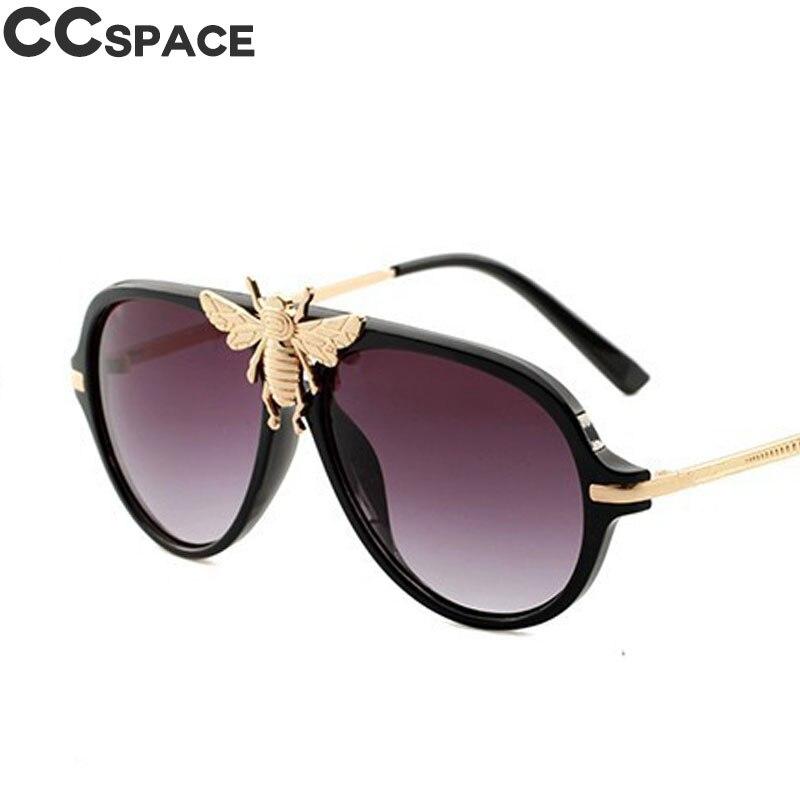 Пчелы Мужские солнечные очки в ретро стиле Для женщин Модные оттенки UV400 Винтаж Брендовые очки Oculos 47809