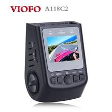 Original VIOFO A118C2 Condensador de alto rendimiento Novatek Coche Dashcam Cámara Mini DVR HD 1080 P Grabador de Vídeo de grabación de bucle como A119