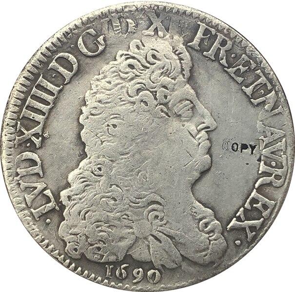 Wholesale Replica 1690 France Coin Copy 100% Coper Manufacturing