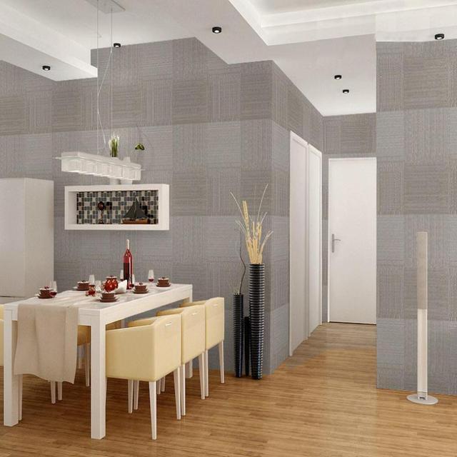 Cuadrado sólido en relieve pintado moderno comedor de diseño de ...