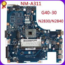 цена на KEFU ACLU9 / ACLU0 NM-A311 motherboard For Lenovo G40 G40-30 Laptop Motherboard  Test motherboard DDR3 with N2830 CPU Onboard