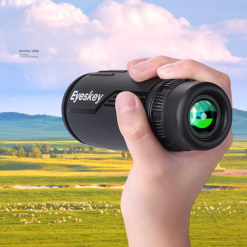 High Quality Monocular Telescope Mini Portable High Definition Telescopes Pocket Telescopio Outdoor Hunting Camping Waterproof jfbl 2x 8x20 mini compact monocular telescopes focus adjustable pocket outdoor sports uk