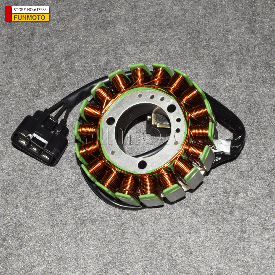 stator suit for  CFMOTO/CF250 JETMAX MOTORCYCLE PARTS NO. IS 01AA-032000 radiator cooling system for cfmoto cf250 t5 v5 parts number is 8050 180400