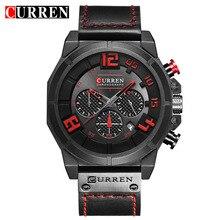 Luxury Brand Curren Chronograph Men Sports Watches Waterproo