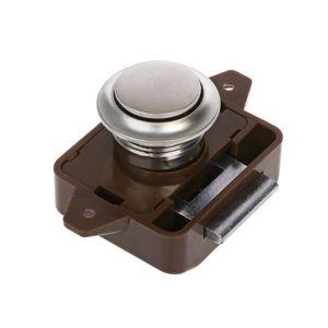 Image 2 - キャンピングカー車プッシュロック RV キャラバンボートモーターホームキャビネットの引き出しラッチボタンをロック家具ハードウェア RV パーツ & アクセサリー