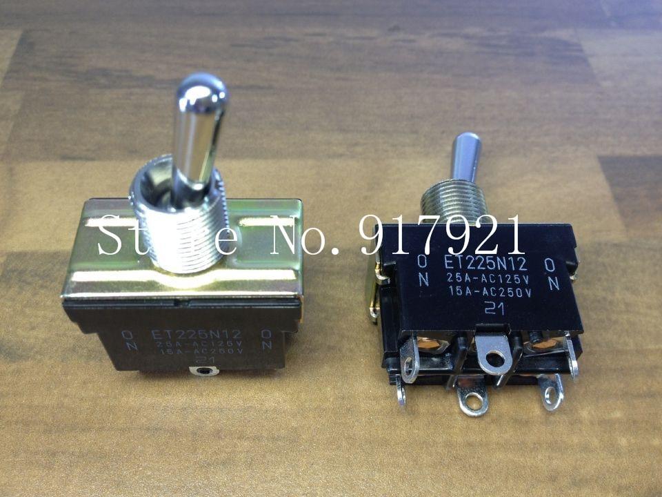 Фото [ZOB] The original Japanese Fuji FUJISOKU ET225N12 15A250V toggle switch toggle switch  --5pcs/lot