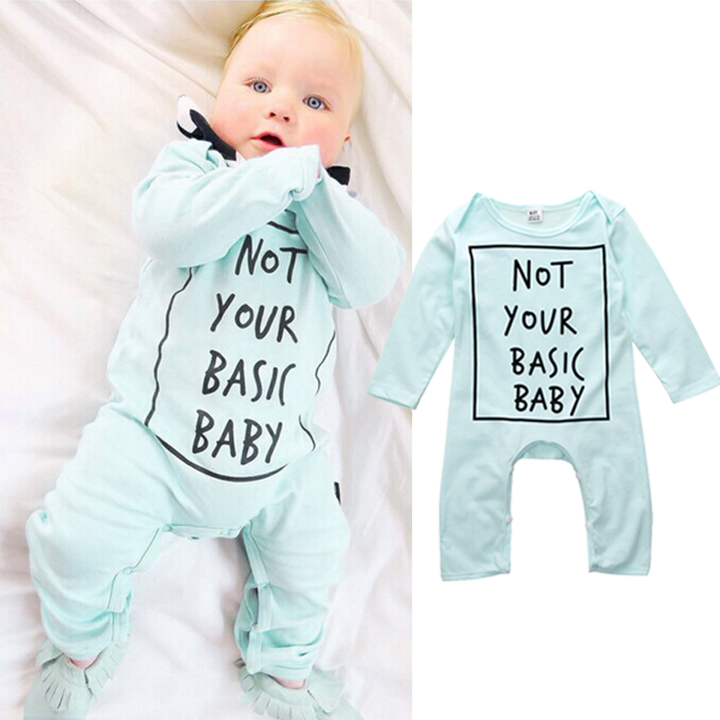 Baby Boys Girls  Warm Infant Rompers Babies Spring Autumn Letter Jumpsuit Romper Cotton Clothes Outfits 0-24M spring autumn newborn baby rompers cartoon infant kids boys girls warm clothing romper jumpsuit cotton long sleeve clothes