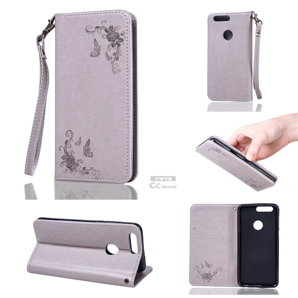 Flip Case for Huawei Honor 8 Honor8 Case Phone Leather Cover for Huawei FRD-L09 FRD-L19 FRD L09 L19 AL00 DL00 TL10 AL10 Bag