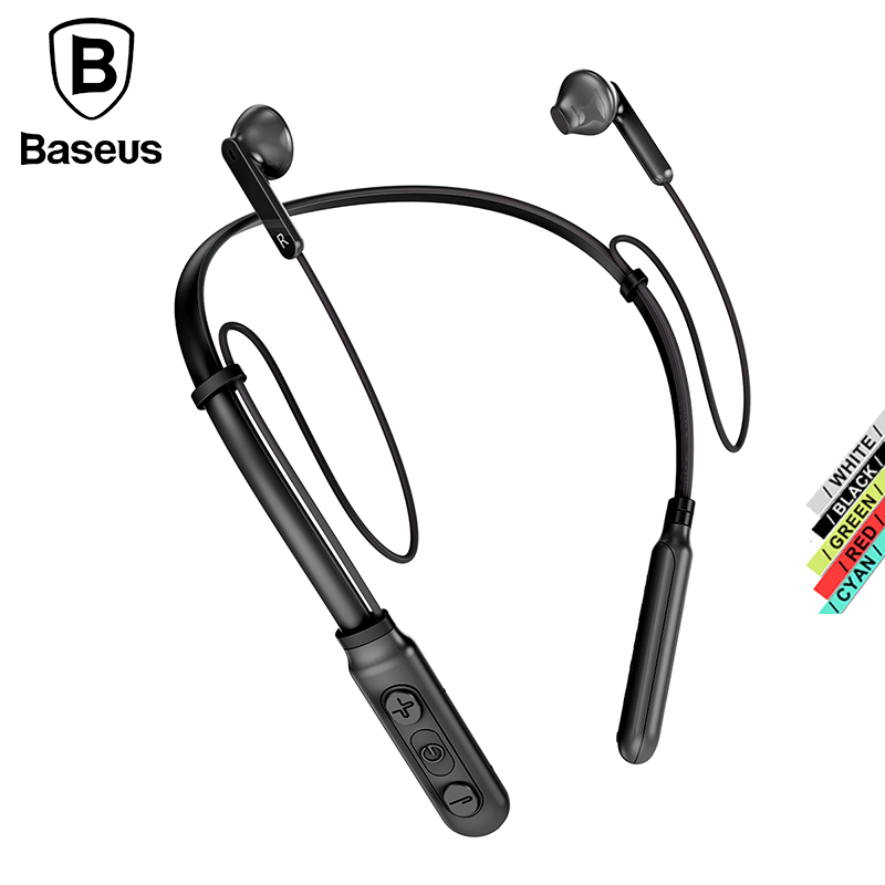 Baseus S16 bluetooth earphone wireless headphones for mobile phone bass sports in-ear headset With microphone For xiaomi iphone magift bluetooth headphones wireless wired headset with microphone for sports mobile phone laptop free russia local delivery hot