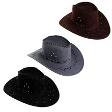 New Arrival Fashion Cowboy Hat For Men Western Party Costumes Travel Casual Hats