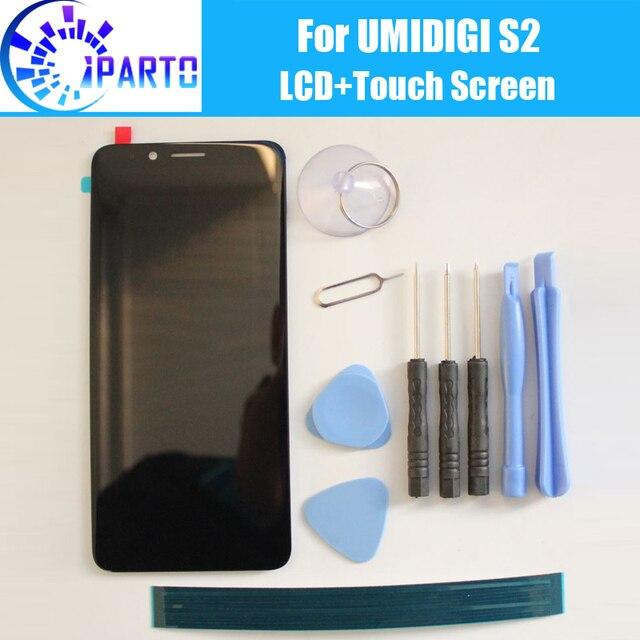 UMIDIGI S2 LCD + Touch Screen 100% LCD Originale Digitizer Pannello In Vetro Per UMI S2 (senza cornice) f602517VA o F602517VB