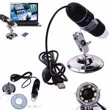 On sale 2017 Practical Electronics 2MP USB 8 LED Digital Camera Microscope Endoscope Magnifier 50X~500X Measure ABS+ alloy Mini Camera