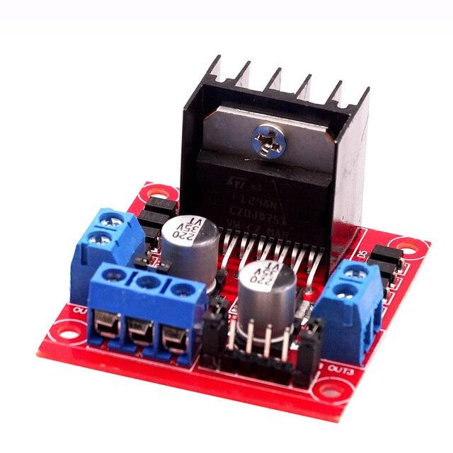 10Pcs L298 Motor Driver Board Module Stappenmotor Robot Auto L298N Peltier High Power Breadboard Voor Arduino Motor Driver