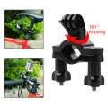 360 Degree Rotation Handle Bar Bike Holder Mount for GoPro HD Hero 3 3+ 4 OS202