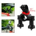 360 grados de rotación manillar bicicleta titular de montaje para gopro hd hero 3 3 + 4 os202
