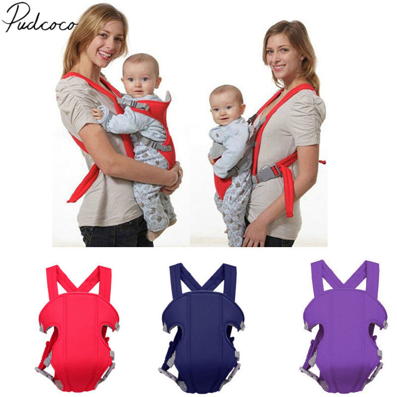 2017 Brand New Adjustable Baby Infant Toddler Newborn Safety Carrier 360 Four Position Lap Strap Soft Baby Sling Carriers 2-30M(China)