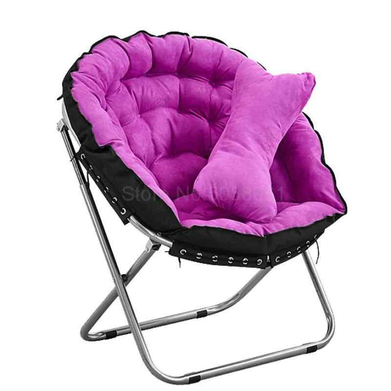 Creative Lazy Sofa Chair Single Tatami Simple Bedroom Living Room Mini Lovely Recreational Folding Balcony Lifting Chair