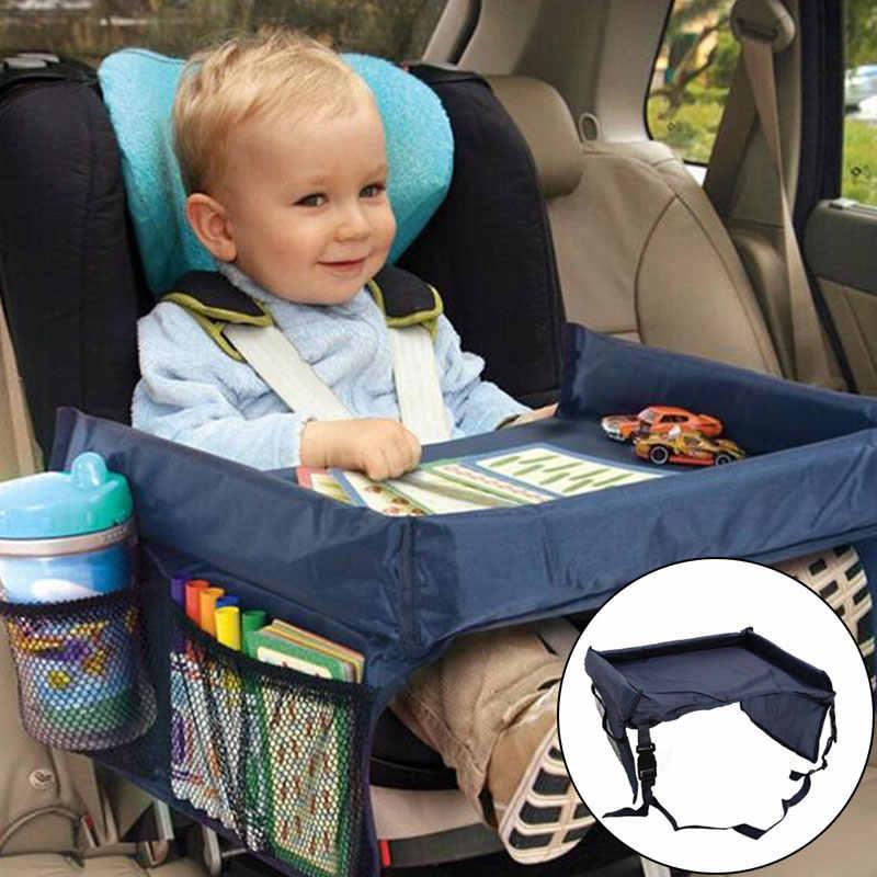 Детский поднос для автомобильного сиденья, коляска, детская игрушка, держатель для воды, стол для детей, портативный стол для автомобиля, новый детский столик для хранения, Манеж