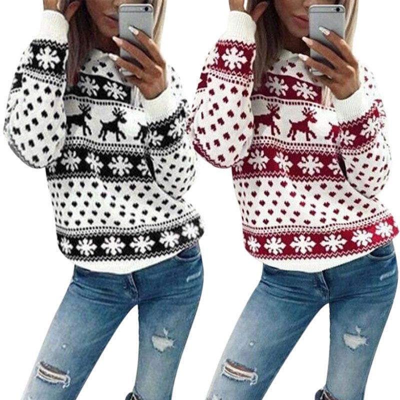 1Tee Mens Christmas Jumper Pattern Snowflake Reindeer Tree T-Shirt