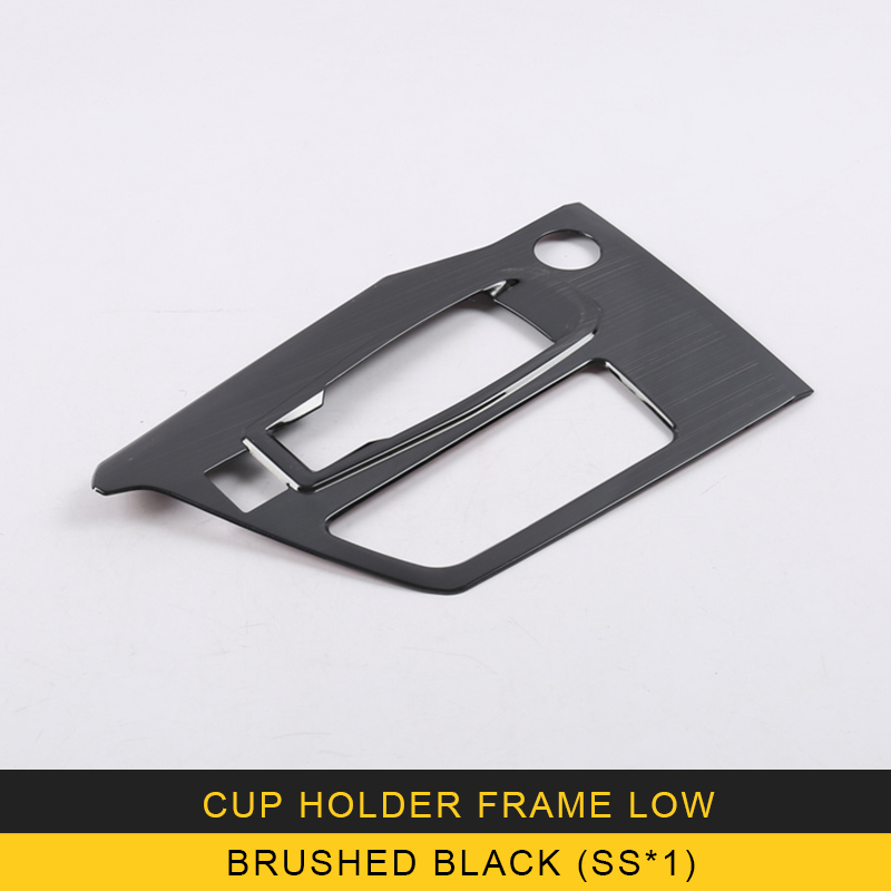 Auto Car-styling Gear Cup holder frame cover trim Sticker Cover Interior Accessories For peugeot 5008