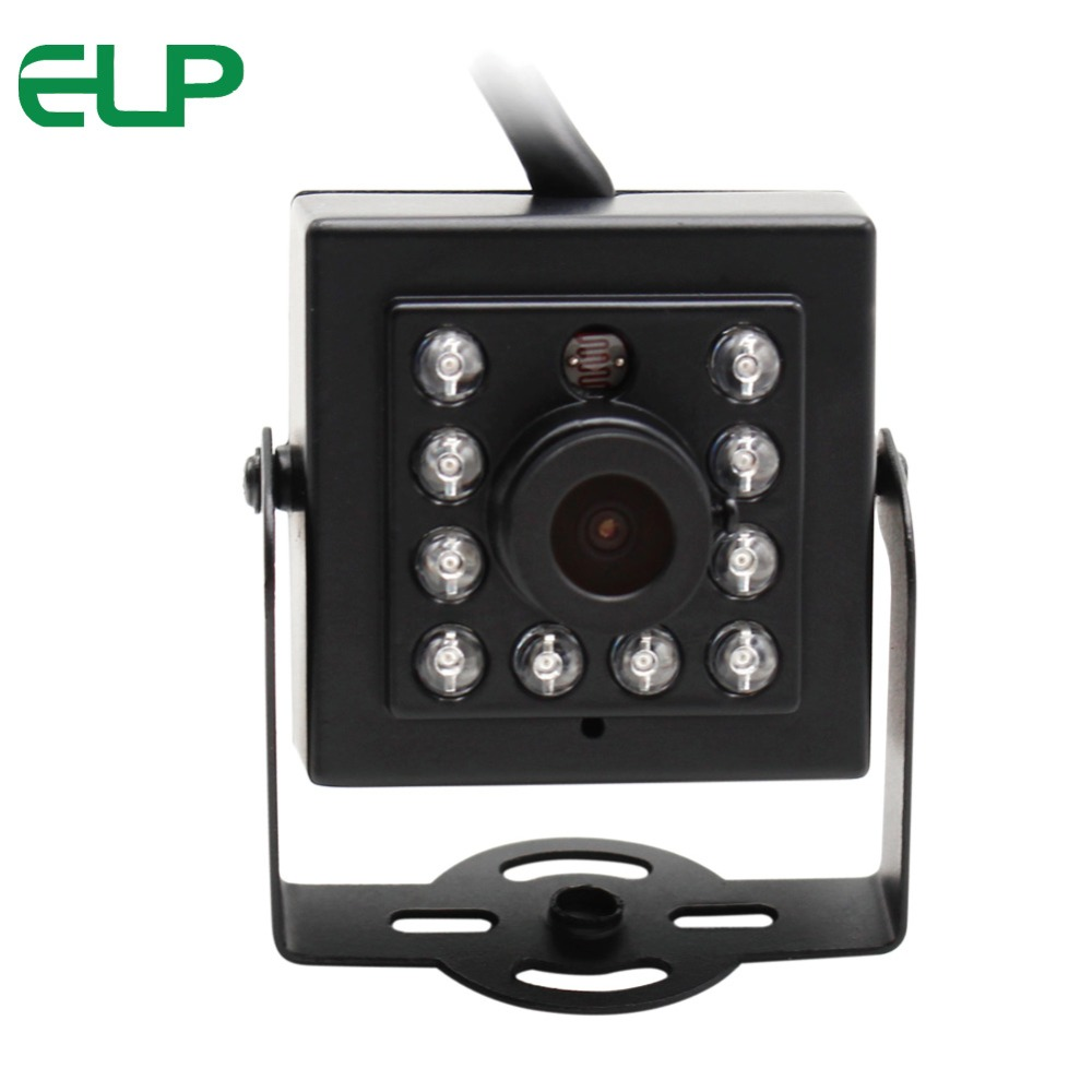 ELP 480P 300K Pixels OV7725 Mini CCTV Webcam day night vision infrared led CMOS ir camera USB for ATM Machine 10 pcs ir led night vision 1 3 cmos 1200tvl mini analog security box cctv camera install into atm machine