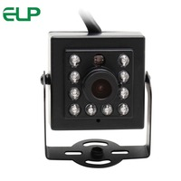 ELP 480P 300K Pixels OV7725 Mini CCTV Webcam day night vision infrared led CMOS ir camera USB for ATM Machine