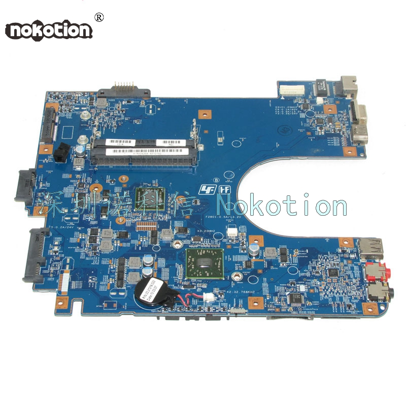 NOKOTION A1843425A MBX-252 48.4MS01.011 Laptop Motherboard For board VAIO VPC-EL VPCEL22FX DDR3 Mainboard цена