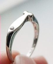 fashion fish rings finger ring fashion wedding ring 316L stainless steel jewelry wholesale(China)