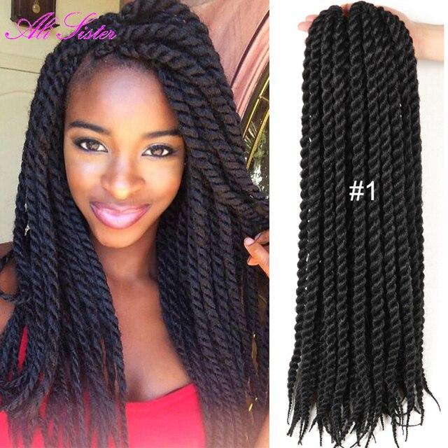 Senegalese Twist Hair Crochet Braid Hair Extension Crochet Hair