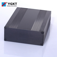 145*54-200/250 (W-H-L) Silver color electronics extruded aluminum enclosure PCB case box 1 piece 25 64 80mm grey extruded aluminum enclosure control box customizable electronics enclosures for pcb amplifier enclosure