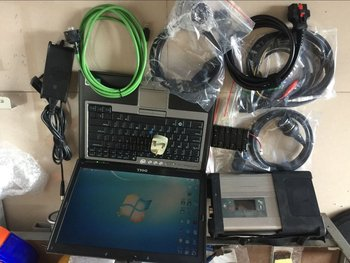 Newest software 2020.3 HDD with MB Star C5 SD Connect diagnostic tool mb star c5 SD scanner with d630 Lapto