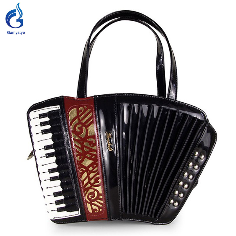 Gamystye  Women Shoulder Bags Handbags Organist guitar violin style bags Ladies