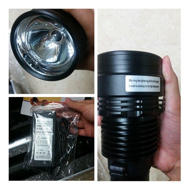 FUMAT 8000 люмен 7800 мАч Lanterna Xenon ультра яркий 85 Вт/65 Вт/45 Вт + SOS/Стробоскоп открытый охотничий кемпинг фонарь ксеноновый фонарь HID - 6