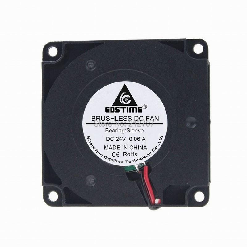 1 pcs Gdstime 24 v 4010 cm 40 4mm DC Ventilador Turbo Ventilador de Refrigeração para 3D Impressora