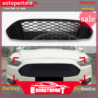 For FORD Fusion / Mondeo 2013 2016 Black front grille replace trim