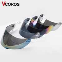 Full face Motorcycle Helmet visor for AGV K5 K3SV Shield Helmets Parts motorbike helmet 5color Tinted Golden silver black clear