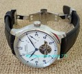 Butterfly buckle 43mm PARNIS power reserve Automatic Self-Wind Mechanical movement men's watch Mechanical watches gl2