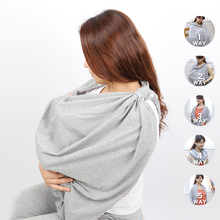 Cotton Nursing Breastfeeding Privacy Cover Baby Scarf Infant Car dress Stroller Breast Feeding Scarf Multipurpose Nursing Covers
